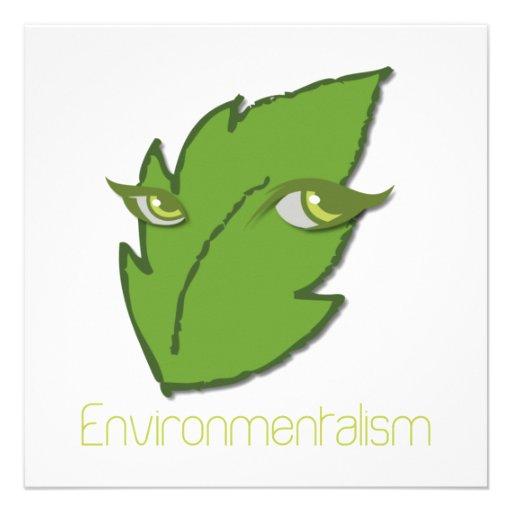 Umweltbewegungs-Einladung