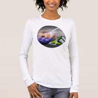 Umweltschutz-Bewusstsein Langarm T-Shirt