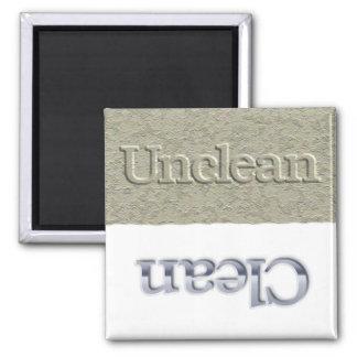 Un/Clean Spülmaschinenmagnet Quadratischer Magnet