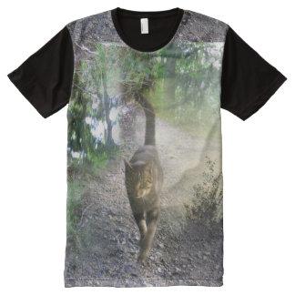 Unabhängigkeit auf Samt-Tatzen-Shirt T-Shirt Mit Komplett Bedruckbarer Vorderseite