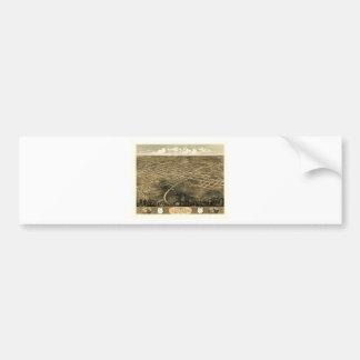 Unabhängigkeit Misssouri 1868 Autoaufkleber