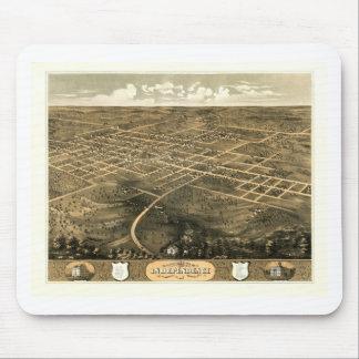 Unabhängigkeit Misssouri 1868 Mousepad