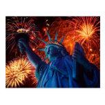 Unabhängigkeits-Americanafreiheits-Postkarten Postkarten