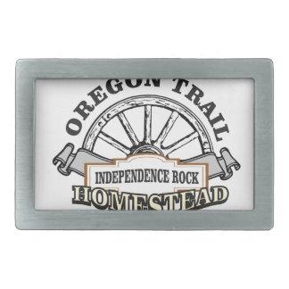 Unabhängigkeits-Felsen Rechteckige Gürtelschnallen
