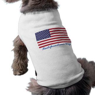 Unabhängigkeits-TagesHundeshirt T-Shirt