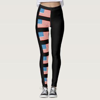 Unabhängigkeits-TagesUS Flagge Leggings