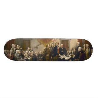Unabhängigkeitserklärung durch John Trumbull 1819 Personalisiertes Deck