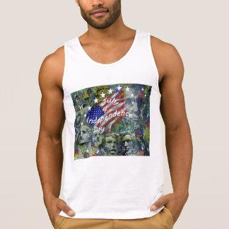 Unabhängigkeitstag, am 4. Juli Tank Top
