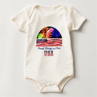 Unabhängigkeitstag Baby Strampler