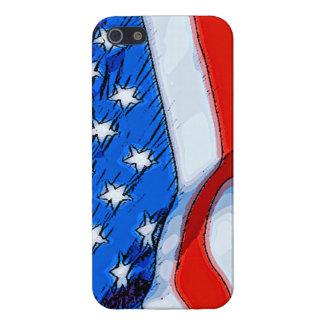 Unabhängigkeitstag-Fahne iPhone 5 Hülle