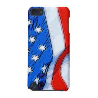 Unabhängigkeitstag-Fahne iPod Touch 5G Hülle