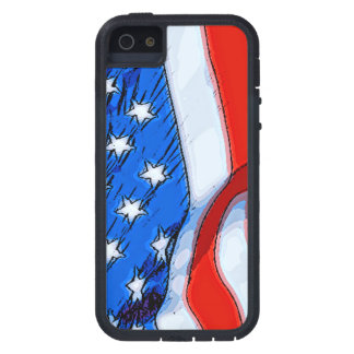 Unabhängigkeitstag-Fahne Schutzhülle Fürs iPhone 5