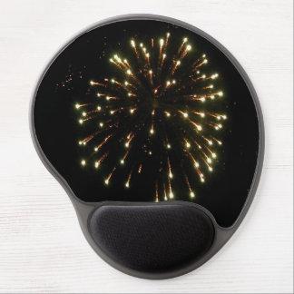 Unabhängigkeitstag-Goldfeuerwerk-Explosion Gel Mousepad