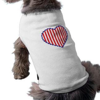 Unabhängigkeitstag-Herz T-Shirt