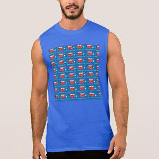 Unabhängigkeitstag-Trommeln Ärmelloses Shirt