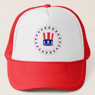 Unabhängigkeitstag-Uncle Sam Hut Truckerkappe