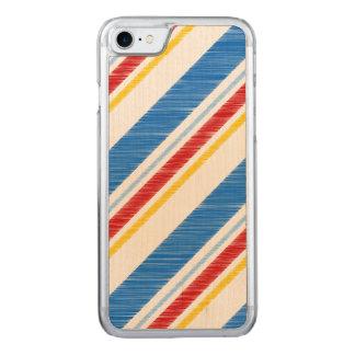 Unabhängigkeitstag-vibrierende rote und blaue carved iPhone 8/7 hülle