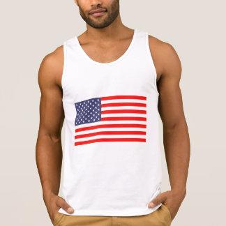 Unabhängigkeitstagbehälterspitzen-Shirt mit Tank Top