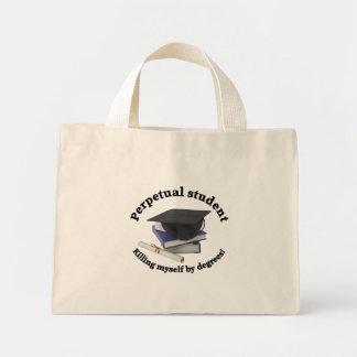 unaufhörliche kleine Taschentasche des Studenten 2 Mini Stoffbeutel