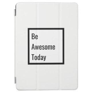 Unbedeutende schwarze u. weiße motivierend iPad iPad Air Hülle