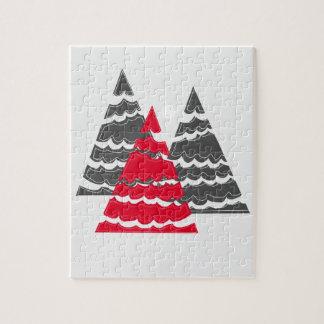 Unbedeutende Weihnachtsbäume Puzzle