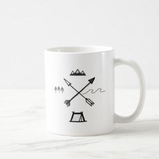 Unbedeutende Wildnis-Symbol-Tasse Kaffeetasse