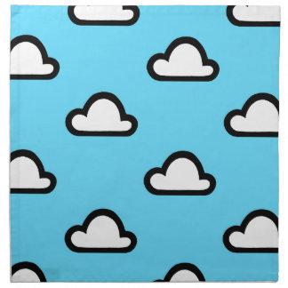 Unbedeutende Wolken Serviette