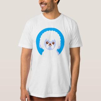 Unbedeutender Bichon Frise Kawaii HundeCartoon T-Shirt