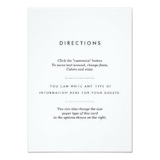 Unbedeutender Hochzeits-Einsatz Karte