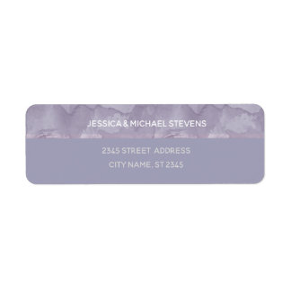 Unbedeutender moderner Lavendel-Aquarellstreifen