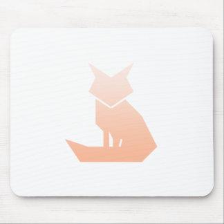 Unbedeutender Pfirsich-SteigungFox Mousepad