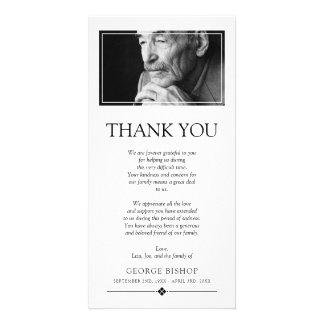Unbedeutendes Beileid des Foto-  danken Ihnen Karte