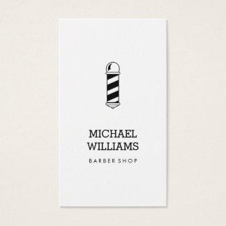 Unbedeutendes cooles modernes Friseur-Geschäft Visitenkarte