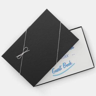 Unbedeutendes weiches Ambiente-Blau-Aquarell Gästebuch