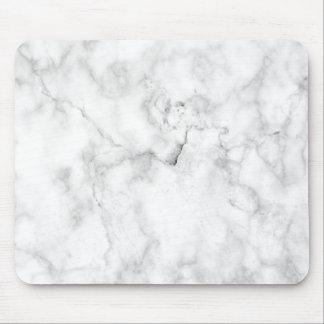 Unbedeutendes weißes MarmorMousepad Mousepad