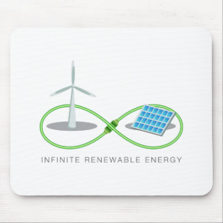 Unbegrenzte erneuerbare Energie Mousepad