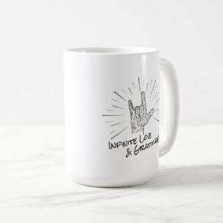 Unbegrenzte Liebe-u. Dankbarkeits-15. Kaffeetasse