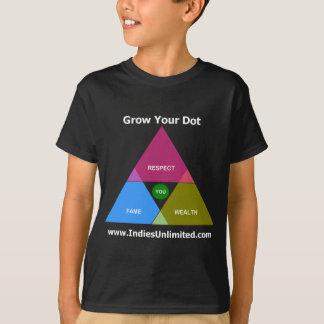 """Unbegrenzter """"wachsen Sie Ihr Punkt-"""" Gang Inseln T-Shirt"""