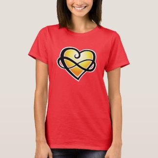 Unbegrenztes Liebegelb T-Shirt