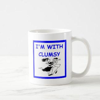 unbeholfener Tänzer Kaffeetasse