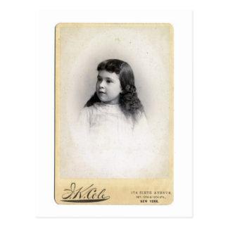Unbekanntes Vintages Kind Postkarte