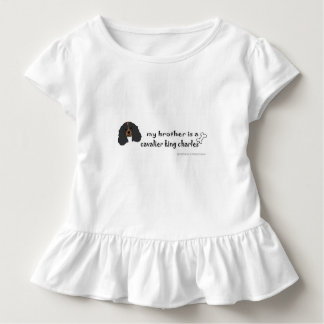unbekümmerter König Charles Spaniel Kleinkind T-shirt
