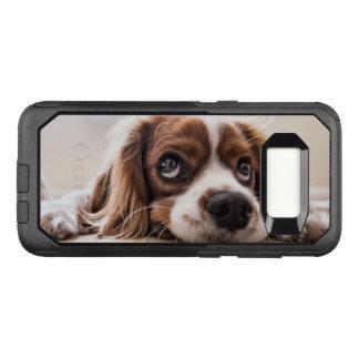 Unbekümmerter König Charles Spaniel OtterBox Commuter Samsung Galaxy S8 Hülle