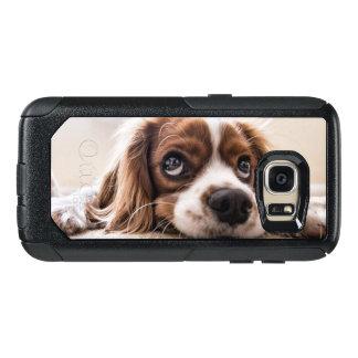 Unbekümmerter König Charles Spaniel OtterBox Samsung Galaxy S7 Hülle