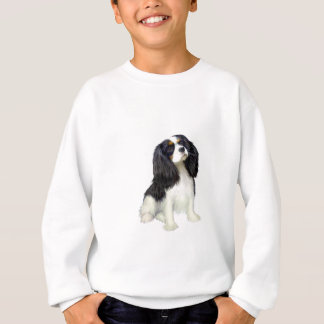 Unbekümmerter König Charles - Tri gefärbt Sweatshirt