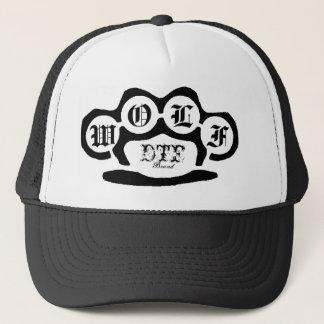 unberechtigt, DTF, Marke, W, O, L, F Truckerkappe