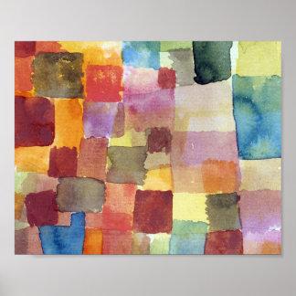 Unberechtigt: Paul Klee 1914 Poster