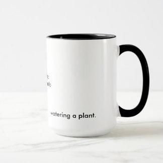 Unberührt, Unspoken zu, eine Pflanze Bukowski Tasse