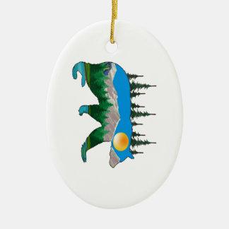 Unberührtes Gebiet Keramik Ornament