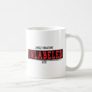 UNBESCHRIFTETES Rot der einsamen Kreationen Kaffeetasse